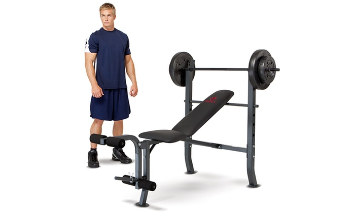 Marcy Bench with Weight Set