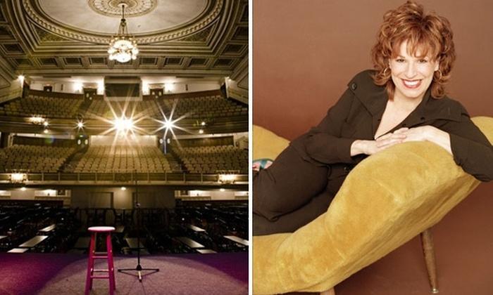 Wilbur Theatre - Downtown: Watch Joy Behar's Stand-Up Routine at the Wilbur Theatre