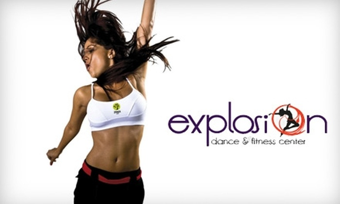 Explosion Dance & Fitness Center - Mission: $20 for Five Zumba Classes ($40 Value) or $80 for a One-Month Membership to Early-Bird Power Zumba VIP Classes ($160 Value) at Explosion Dance & Fitness Center