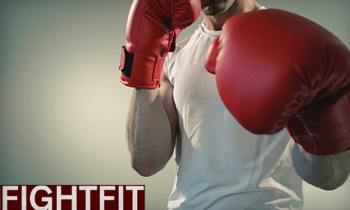FightFit - Downtown: $33 for Three One-on-One Boxing-Based Conditioning Sessions at FightFit