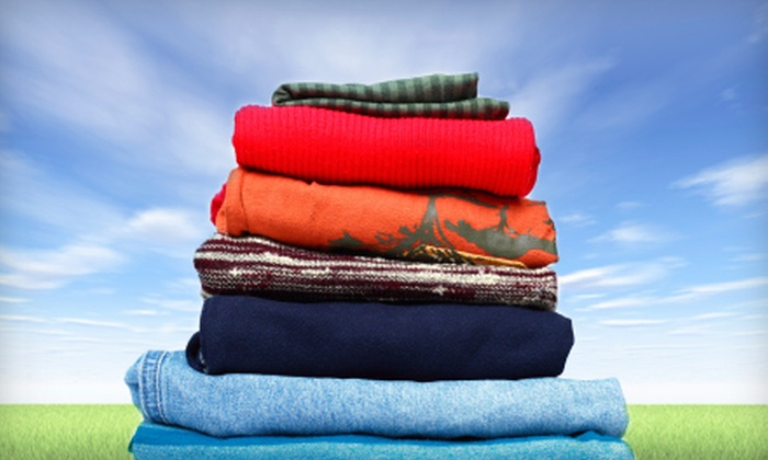 Qdokie First Class Laundry Service - Multiple Locations: Wash, Dry, and Fold Services with Free Pickup and Delivery from Qdokie First Class Laundry Service