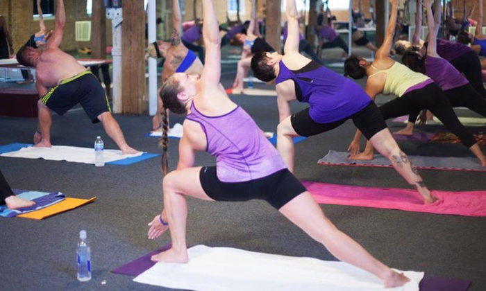 Bikram Yoga West Loop Chicago - West Loop: 12 Yoga Classes or Five Weeks of Unlimited Classes at Bikram Yoga West Loop (76% Off)