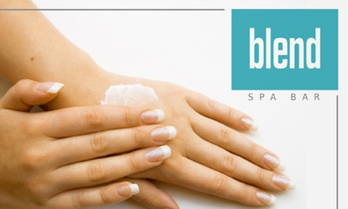 Blend Spa Bar - Washington DC: $15 for $35 Worth of Custom-Blend or Signature Products from Blend Spa Bar