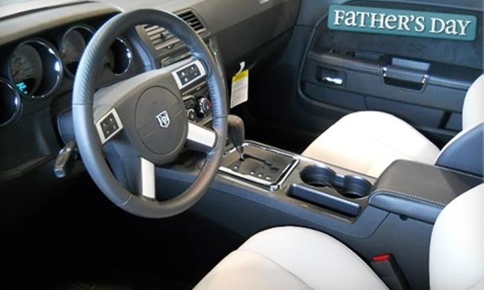 Jim Thompson Chrysler - Gardiners: $99 for a Platinum Auto-Detail Package at Jim Thompson Chrysler ($199 Value)