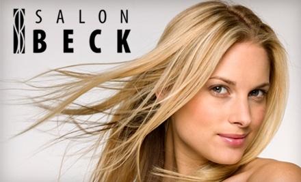 $50 Groupon to Salon Beck - Salon Beck in Cincinnati