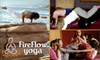 Fireflow Yoga - Midtown Toronto: $30 for a Full-Week Session of Kids Yoga Camp at Fireflow Yoga ($65 Value)