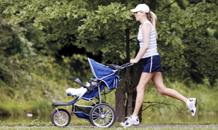 Stroller Fitt AK - Multiple Locations: 10, 15, or 25 Stroller-Fitness Classes at Stroller Fitt AK (Up to 74% Off)