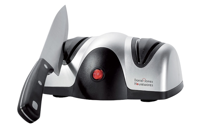 One or Two Daniel James Products Electric Knife Sharpeners