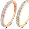 1/5 CTTW Diamond Ring in 10K Solid Gold