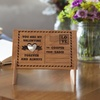 Up to 84% Off Personalized Love Themed Wooden Postcards