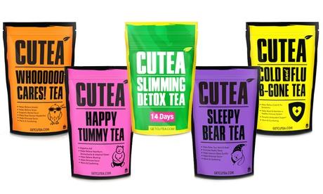 CUTEA Herbal Tea (1, or 2-Pack). Multiple Options Available. e1433cfc-dd1c-4ceb-a98d-ccc97d0aa6bd