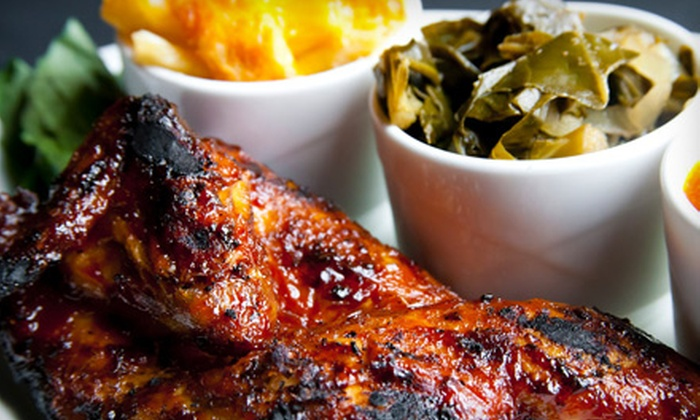 Georgia Rib Company - Marietta: Barbecue Meals with Drinks for Two, Four, or Six at Georgia Rib Company in Marietta (Up to 58% Off)