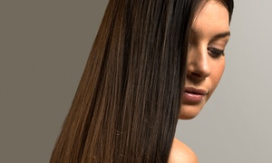 Blowdye Salon: Haircut and Color Packages or Brazilian Blowout at Blowdye Salon (Up to 70% Off). Three Options Available.