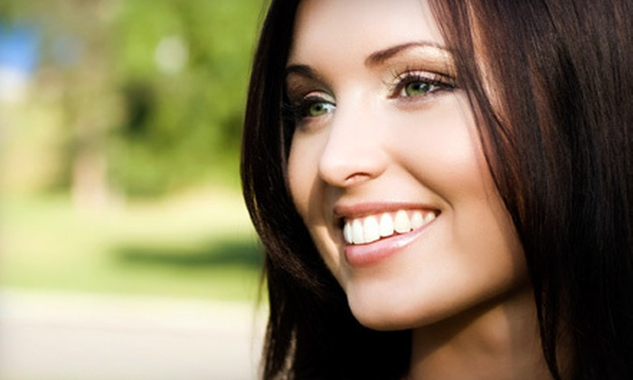Dental Salon - Goose Island: Dental Checkup with Exam, Cleaning, and X-ray or In-Office Laser Teeth Whitening at Dental Salon (Up to 80% Off)