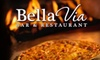 Bella Via - Hunters Point: $20 for $40 Worth of Coal-Fired Pizza and Italian Cuisine at Bella Via