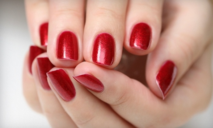 Princess Nails and Spa on Rosedale - Bakersfield: $22 for a Shellac Chip-Free Manicure at Princess Nails and Spa on Rosedale ($45 Value)