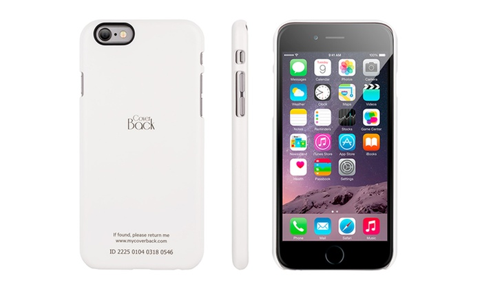 Cover Back ID Case for iPhone 6 or 6 Plus | Groupon