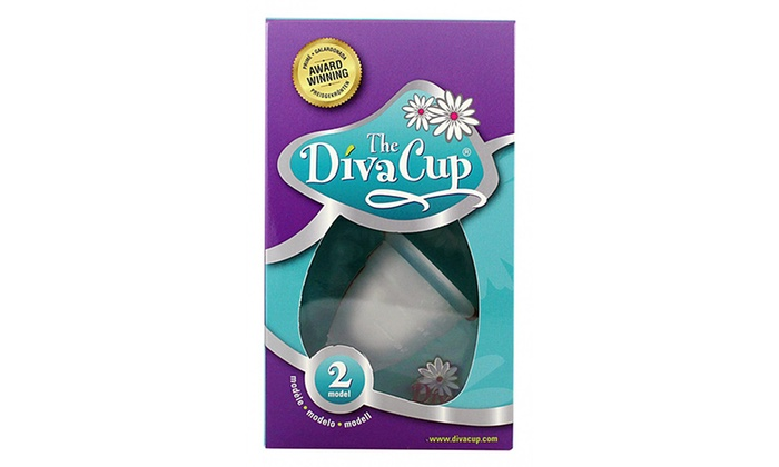 Diva cup model 2 1 or 2 pack groupon goods - Diva cup 2 ...