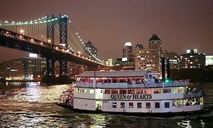 Queen of Hearts: Nighttime Cruise with Drinks for Two or Four from Queen of Hearts (Up to 49% Off)