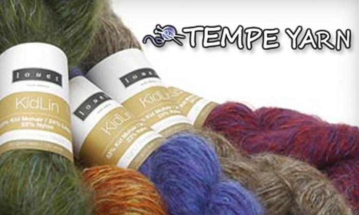 Tempe Yarn & Fiber - Tempe: $17 for a Three-Hour Knitting Workshop at Tempe Yarn & Fiber (a $35 Value)