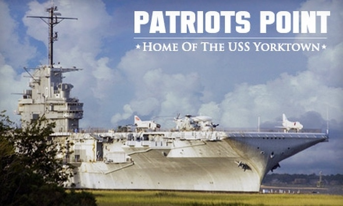 Patriots Point Naval & Maritime Museum - Mount Pleasant: $18 for Two Tickets to the Patriots Point Naval & Maritime Museum ($36 Value)