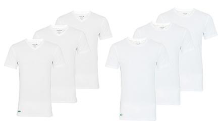Set di 3 Lacoste T-shirt da uomo