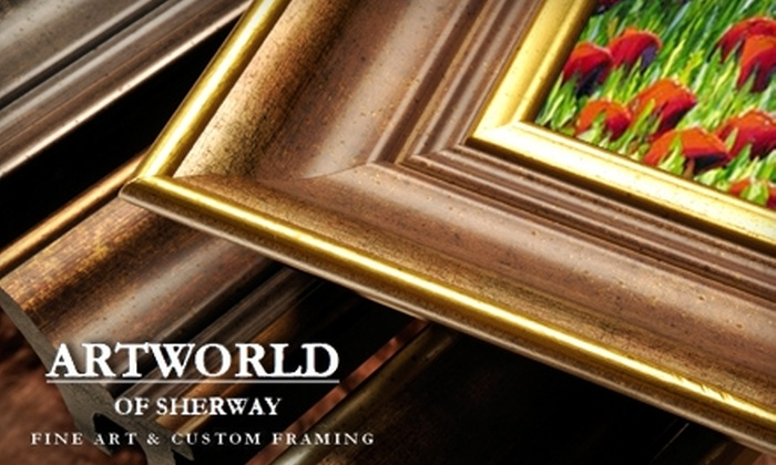 Artworld of Sherway - Islington - City Centre West: $85 for $200 Worth of Art or Custom Framing at Artworld of Sherway