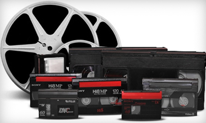 The Film Transfer Company: $40 for $100 Worth of Film, Video, and Slide Transfers from The Film Transfer Company