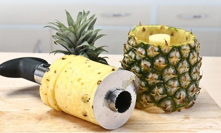 One, Two or Three Multifunctional Stainless Steel Pineapple Slicers
