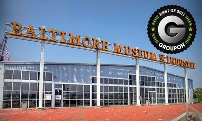 Baltimore Museum of Industry - Riverside: Admission for Two People or Family of Four, or Household Membership to Baltimore Museum of Industry (Up to 55% Off)
