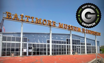 Admission for 2 People (a $20 value) - Baltimore Museum of Industry in Baltimore