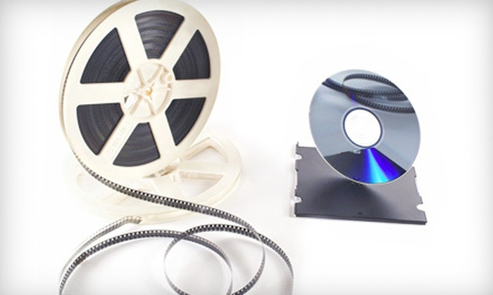 Family Ties - Bremer Bank Building: $69 for 650 Feet of Film-to-DVD Transfer Services at Family Ties in St. Louis Park ($146.95 Value)