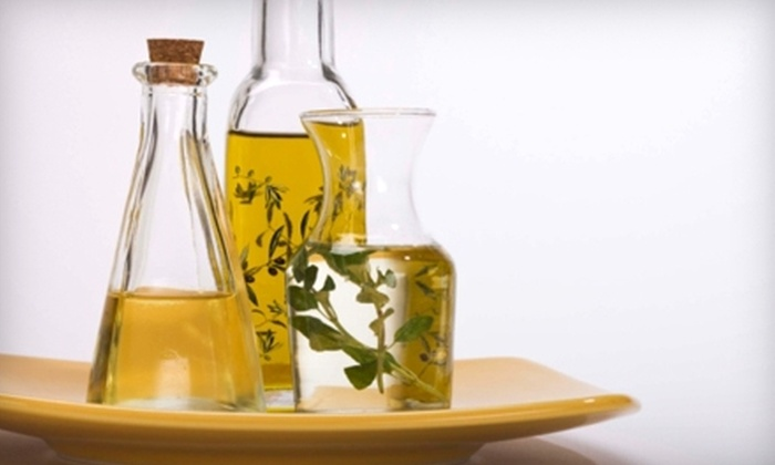 The Olive Gallery - Yorkville: $15 for $30 Worth of Gourmet Italian Oils and Vinegars at The Olive Gallery in Yorkville