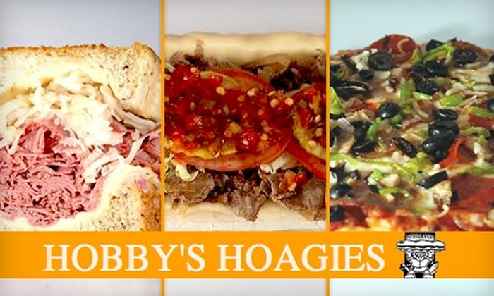 Hobby's Hoagies - Multiple Locations: $5 for $10 Worth of Savory Sandwiches at Hobby's Hoagies
