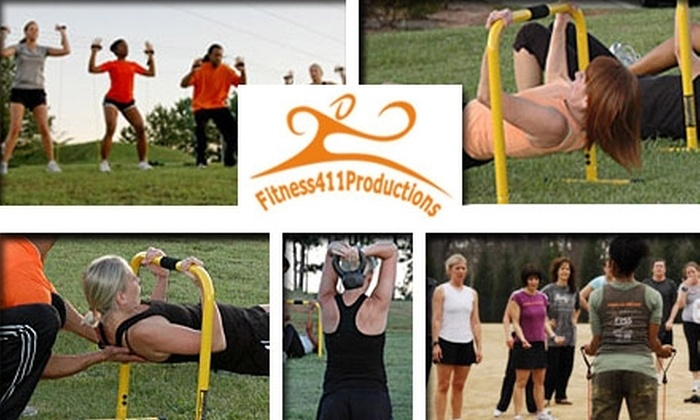 Fitness411 - Lilburn: $25 for Four Boot-Camp Classes at Fitness411