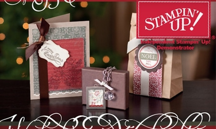 Made for You Cards - 18: $20 for a Deluxe Paper Crafting Kit and Class from Made for You Cards