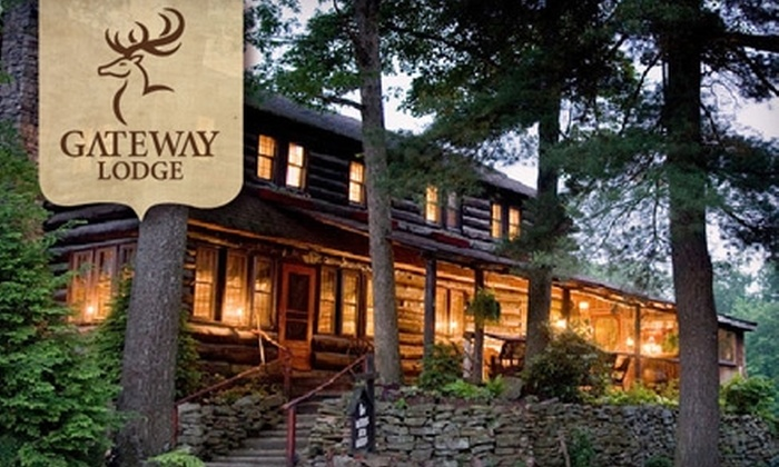 Gateway Lodge Country Inn Resort & Spa - Youngstown: $99 for a Weekday Night Stay at Gateway Lodge in Cooksburg, PA ($199 Value)