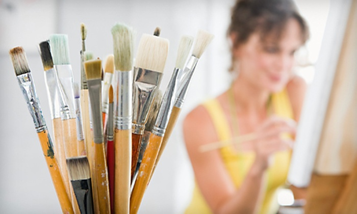 Xpressive Arts Center - Poway: $20 for a Two-Hour BYOB Painting Class at Xpressive Arts Center in Poway ($45 Value)
