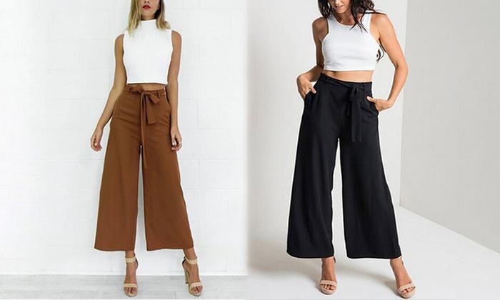 pantalon tendance femme