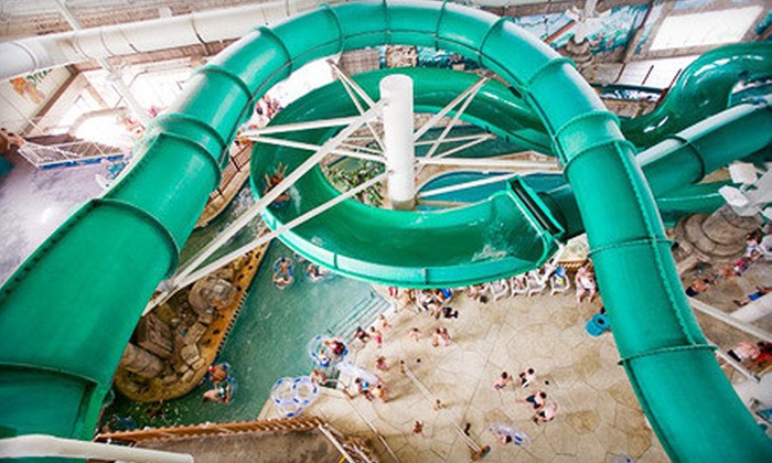Mount Olympus Water & Theme Park - Lake Delton: Mount Olympus Water & Theme Park Outing for Two or Four in Wisconsin Dells (Up to 56% Off)
