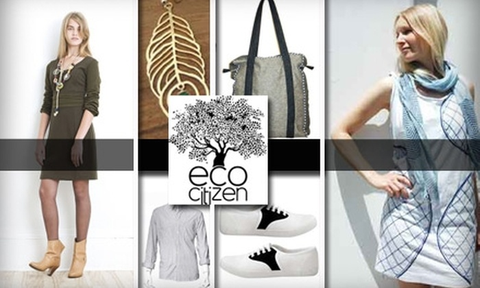 Eco Citizen - Russian Hill: $25 for $50 Worth of Eco-Friendly High Fashion at Eco Citizen
