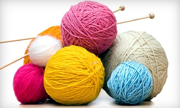 Knit One - Squirrel Hill South: $10 for One Two-Hour Beginner or Advanced-Beginner Group Knitting Class at Knit One ($25 Value)