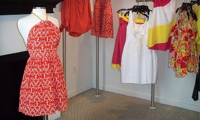 Painted Pink - Forest Park: $25 for $50 Worth of Designer Apparel and Accessories at Painted Pink