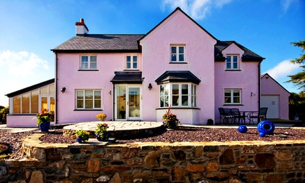 5* Pembrokeshire Stay with Breakfast and Optional Dinner at Y Garth 5* Boutique Guest House