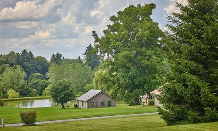 Bourgogne: 2, 3, 5 ou 7 nuits en cottage avec pdj et accès spa en option au Domaine du Grand Bois pour 3 ou 4 pers