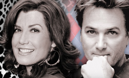 Amy Grant and Michael W. Smith on Sat., Oct. 29 at 7PM: Lower Balcony Seating - 2 Friends Tour in Chattanooga
