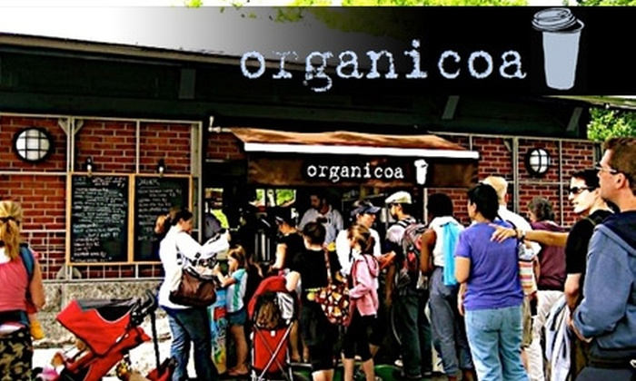 Organicoa - Ludlow: $10 for $20 Worth of Organic Hot Chocolate, Sandwiches, Salads, and More at Organicoa