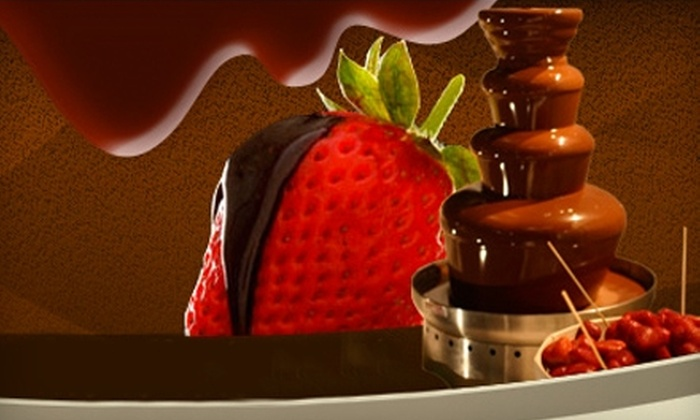 The Upstairs - Saskatoon: $25 For $50 Worth of Fondue and Drinks at The Upstairs