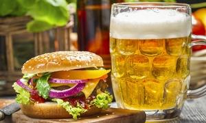 Cheers Pub (Tombolo): Cena con hamburger da 350 grammi, fritture e un litro di birra artigianale da 19,90 €