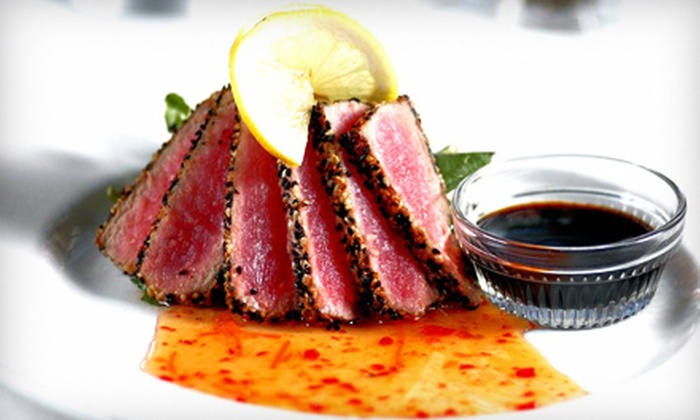 FoxFire - FoxFire: $30 for $60 Worth of Steaks, Chops, and Seafood at FoxFire in Geneva